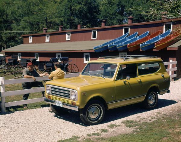 1972 International Scout II Pickup in Resort Area