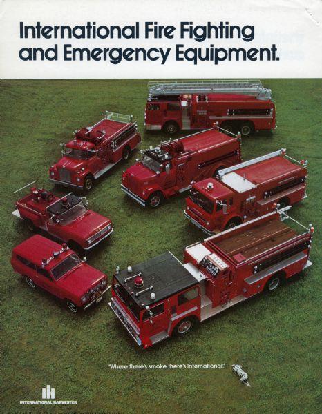 1973 International Fire Truck Brochure