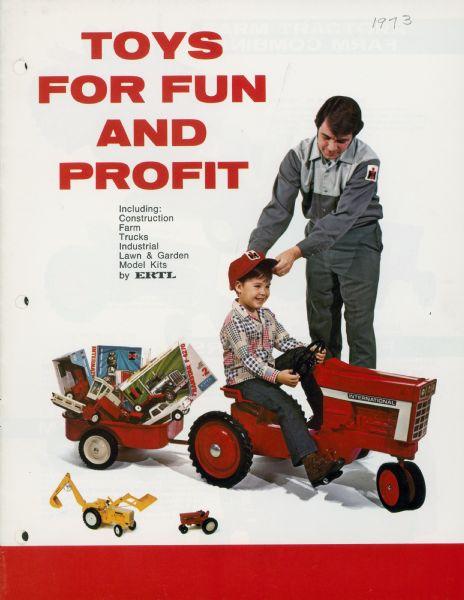 1973 International Harvester Toy Catalog