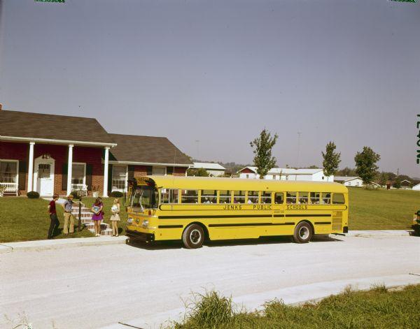 1973 International Rear-Engine Drive Bus