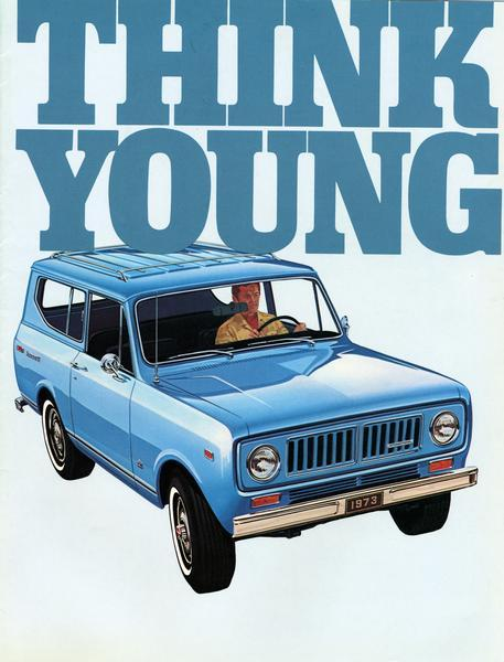 1973 International Scout Think Young Campagne