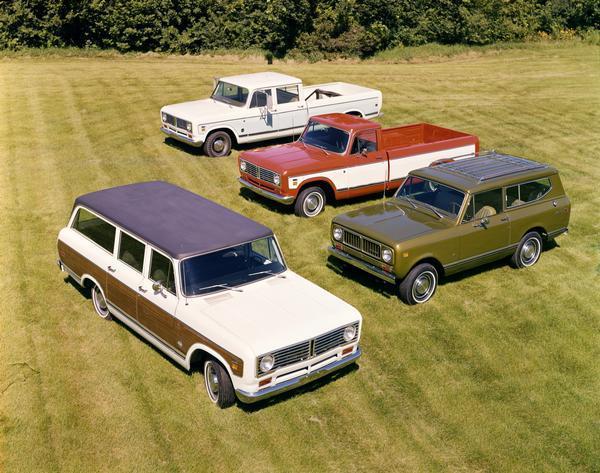 1973 International Scout, Travelall and Travelette Trucks