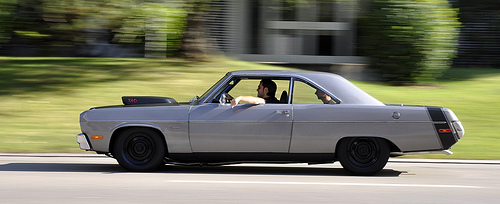 1973 Plymouth Scamp Grey