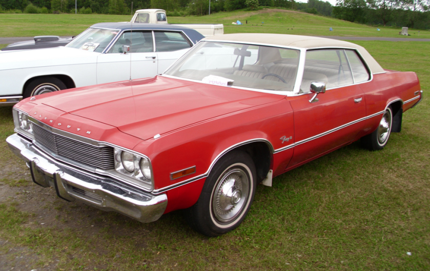 1974 Plymouth Fury II 2-door hardtop