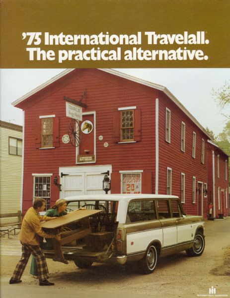 1975 International Travelall Station Wagon Brochure