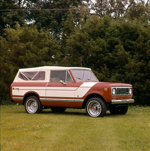 1976 International Scout II Truck ad