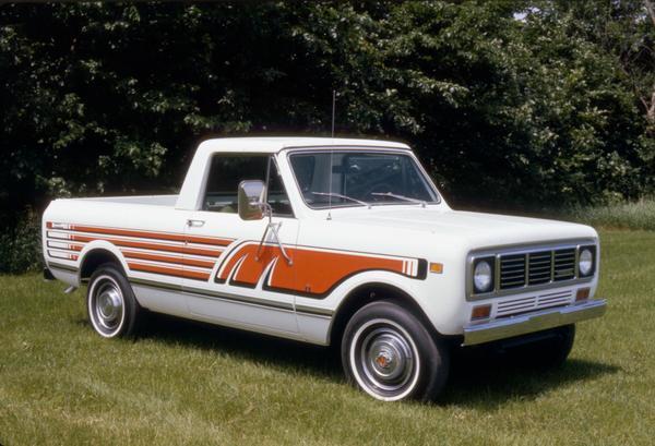 1976 International Scout Terra pickup truck