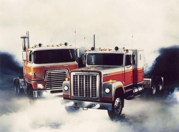 1976 International Transtar Eagle Trucks