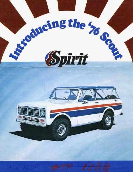 1976 Introducing the International '76 Scout Spirit