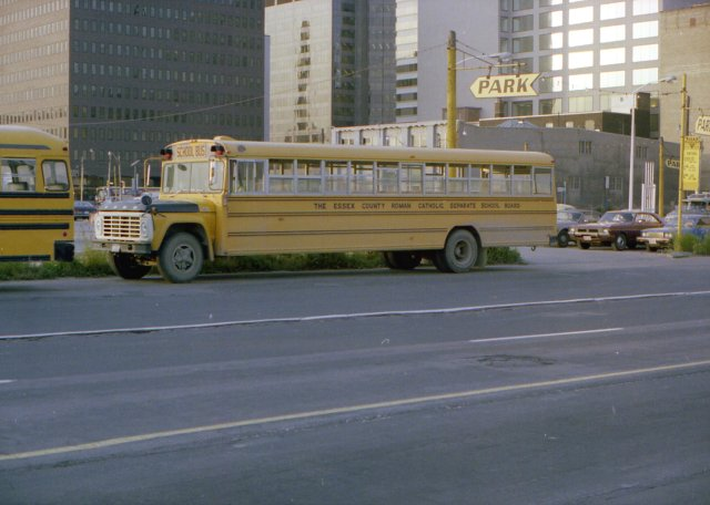 1977-1979 Canadian Welles International Lifeguard in Toronto, Canada on Ford B700 chassis.