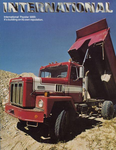 1977 International Paystar 5000 Construction Trucks Brochure