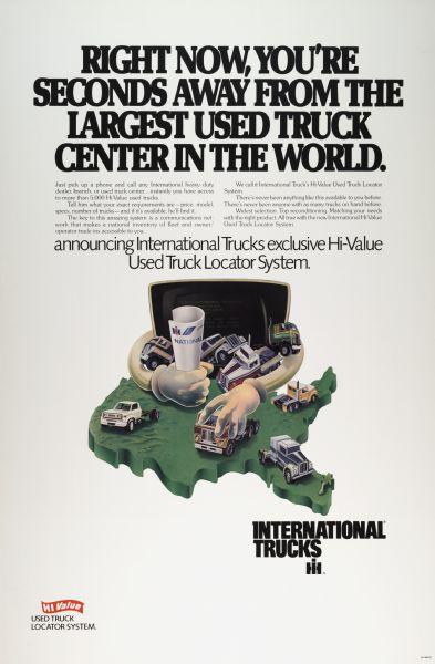 1977 International Truck Advertising Poster a