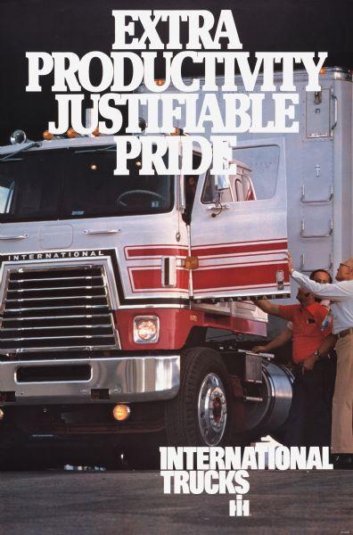 1977 International Truck Advertising Poster