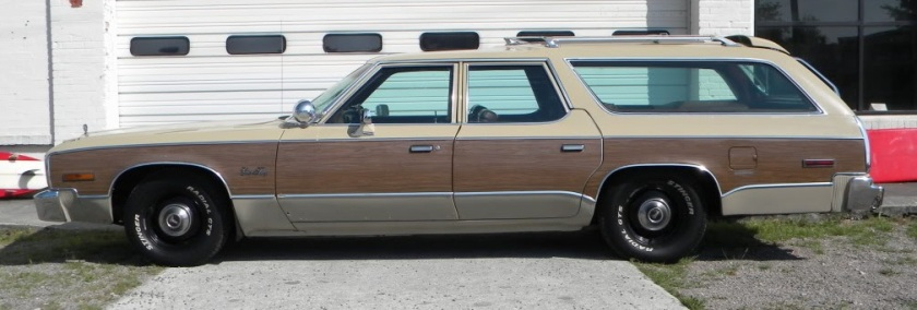 1977 Plymouth Gran Fury Sport Suburban