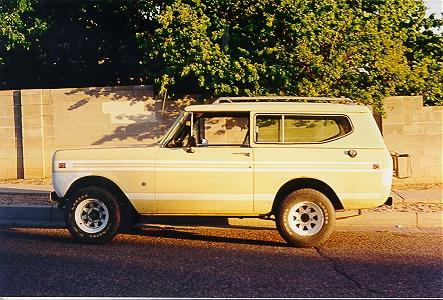 1978 International Scout II Yellowscout