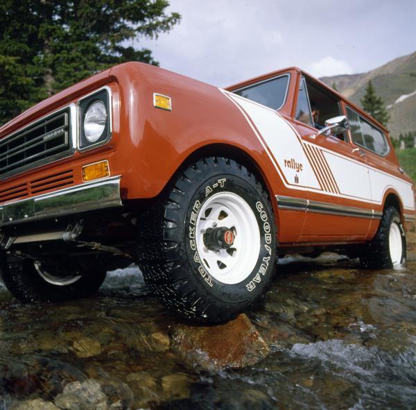 1978 International Scout Rally Truck