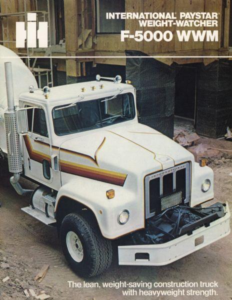 1979 International Paystar F-5000 WWM Truck Brochure