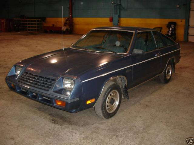 1979 Plymouth Horizon TC3
