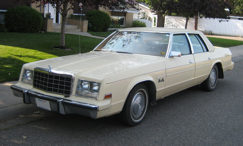1980-81 Plymouth Gran Fury Salon 4dr
