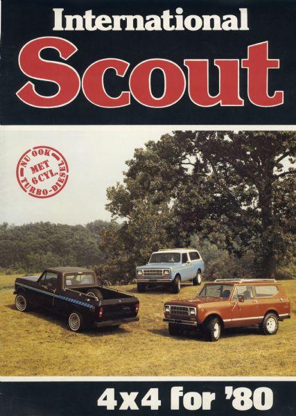 1980 International Scout Dutch Brochure