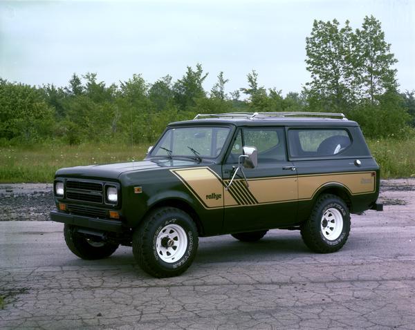 1980 International Scout II Rallye Edition