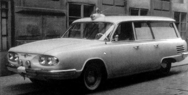 1981 Czech Tatra 613 ambulance