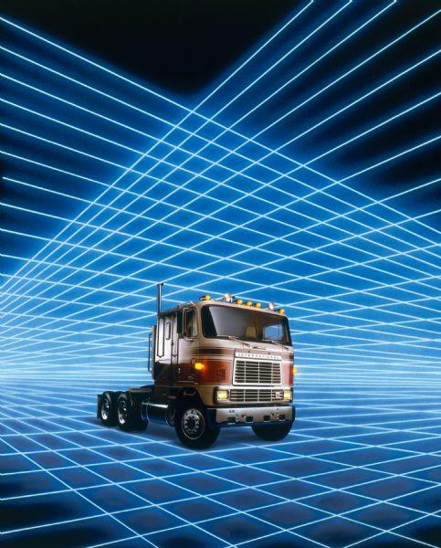 1981 International Transtar Eagle Truck ad