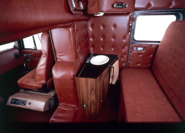 1981 International Transtar Eagle Truck Interior back