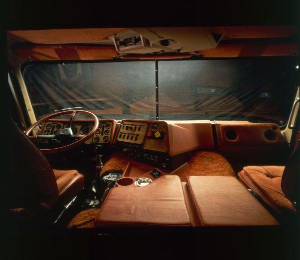 1981 International Transtar Eagle Truck Interior