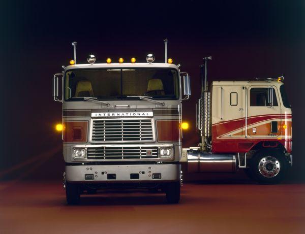 1981 Two International Transtar Eagle Trucks
