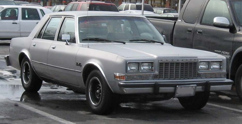1982-89 3rd Plymouth Gran Fury
