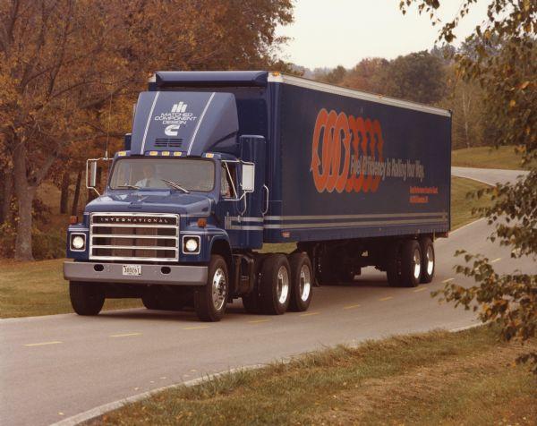 1982 International F-2375 Truck on Cross Country Trip