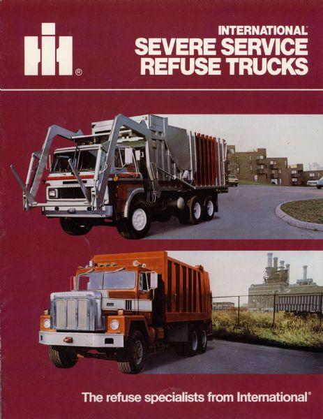 1982 International Severe Service Refuse Trucks Brochure