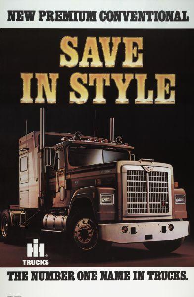 1982 International Truck Advertising Poster