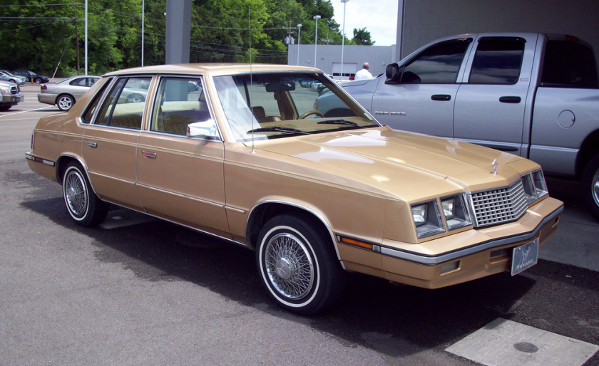 1983-85 Plymouth Caravelle