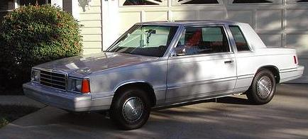 1983 Plymouth Reliant K coupe