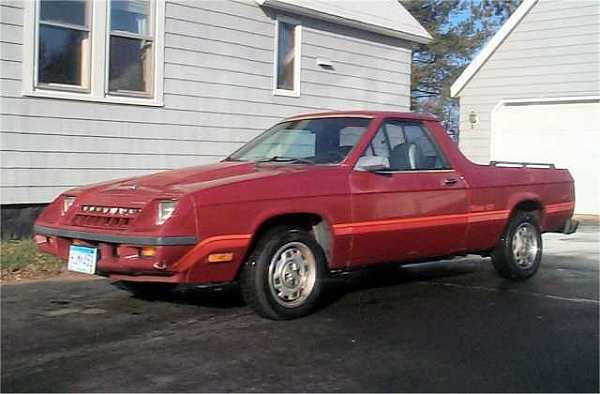 1983 Plymouth Scamp GT
