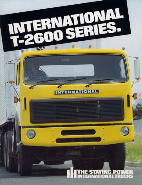 1984 Australian International T-2600 Series Truck Brochure