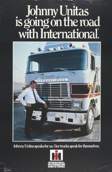 1984 International Truck Advertising Poster