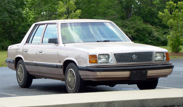 1985-89 Plymouth Reliant K LE