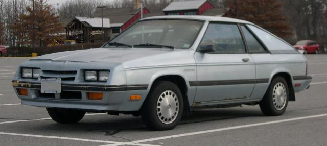 1985 L-body Plymouth Duster, 1985 or 1986 Plymouth Duster EEK