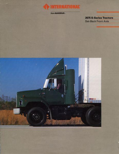 1986 International S-Series Semi Truck Brochure