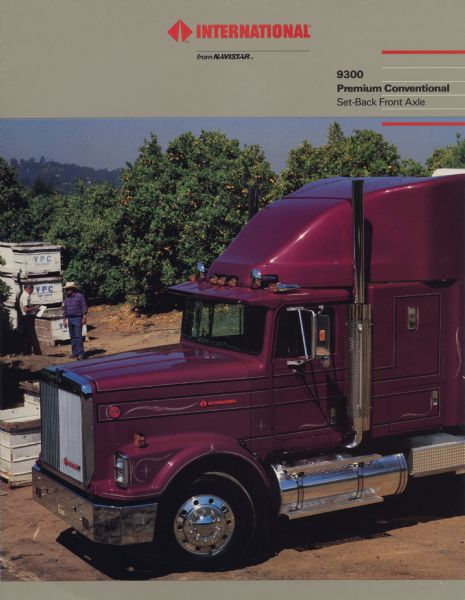 1987 International 9300 Premium Conventional Semi Truck