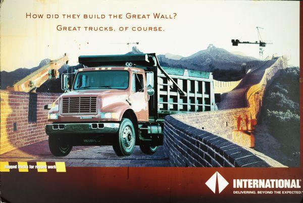 1990 International Trucks Great Wall Poster