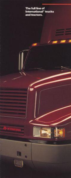 1991 International Trucks Advertising Brochure