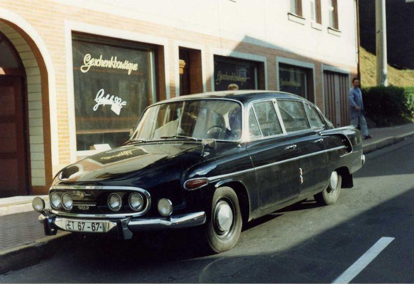 1991 Tatra 603 Lauscha