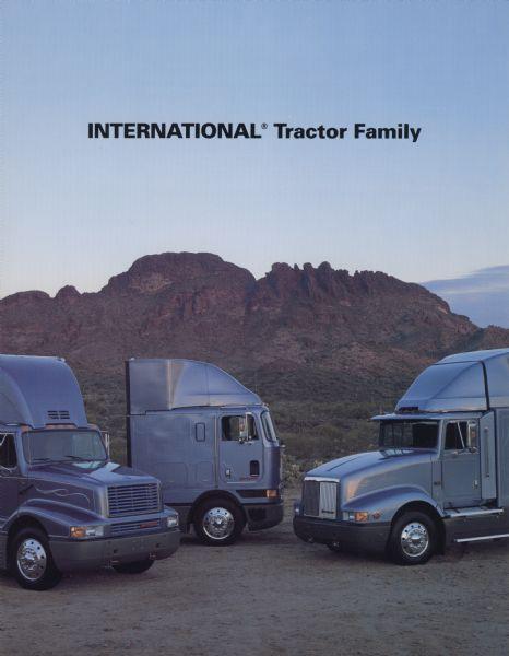 1992 International Semi Trucks Advertising Brochure