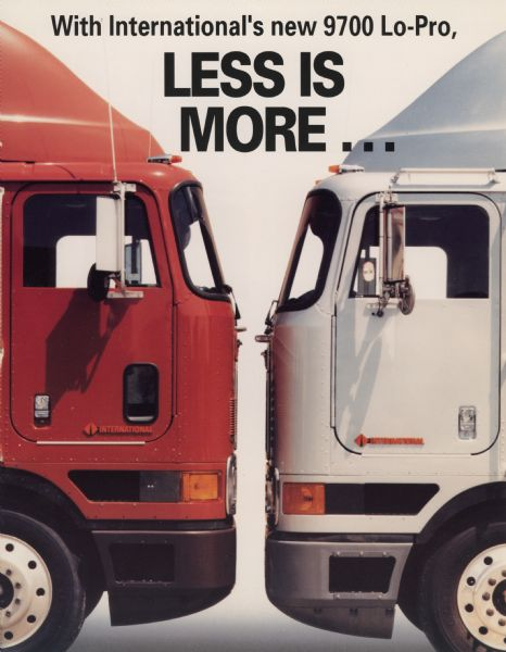 1993 International 9700 Lo-Pro Truck