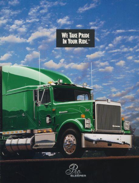 1994 International Eagle Pro Sleeper Semi Truck