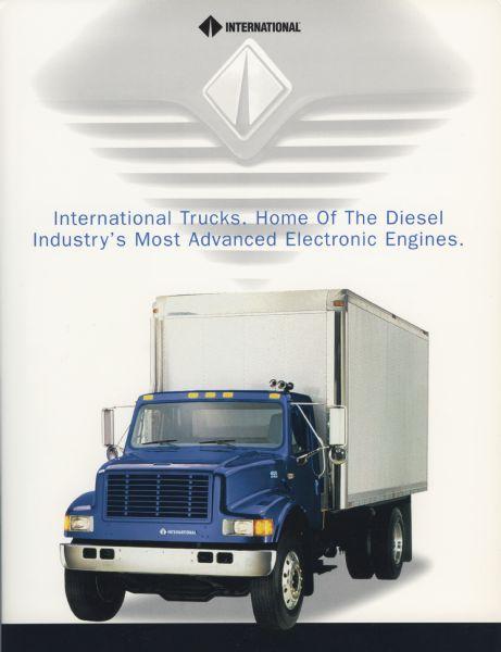1997 International Trucks Diesel Engine Advertisement